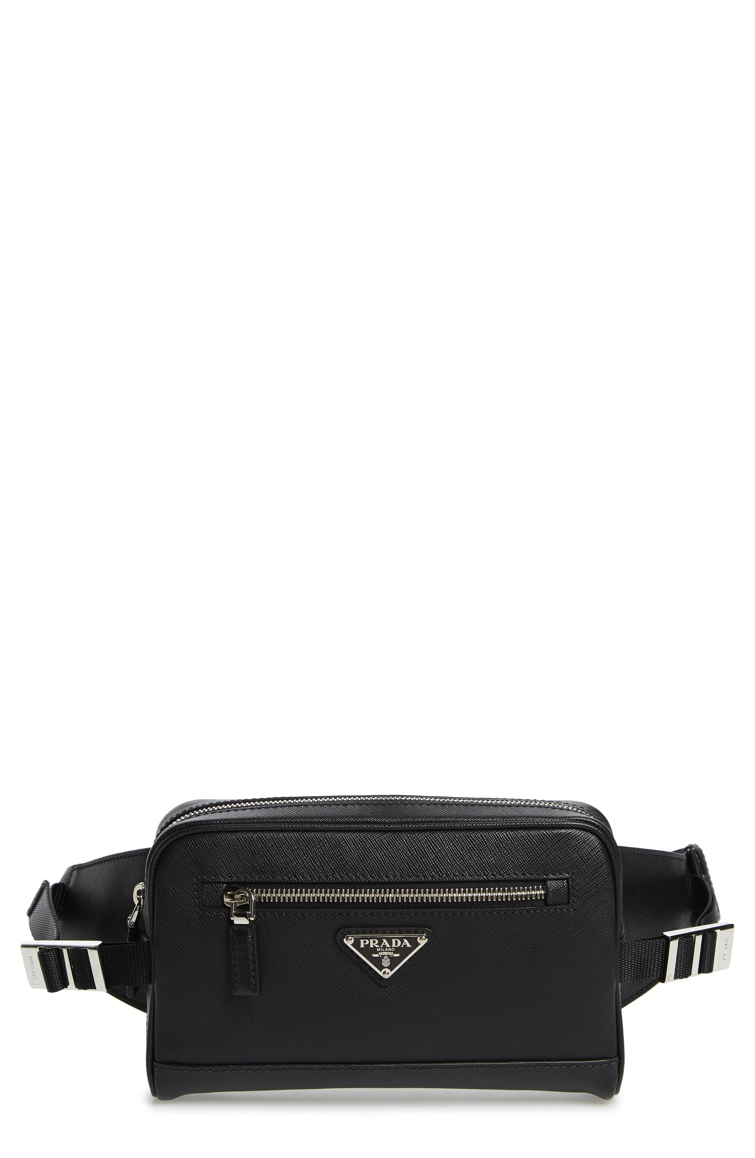 Prada Belt bags Saffiano Leather Belt Bag