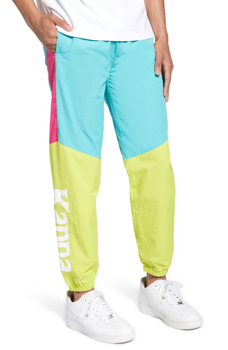 KAPPA Authentic 90 Barsia Nylon Track Pants, Main, color, 300