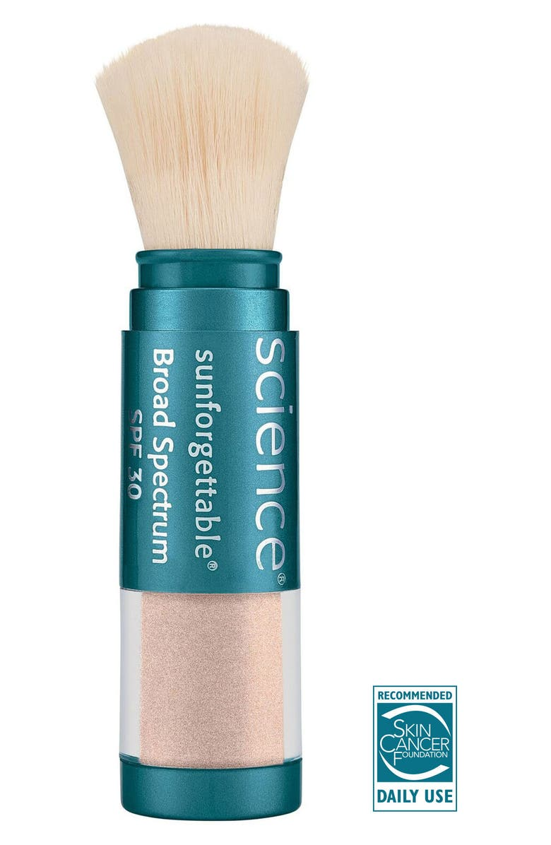 COLORESCIENCE<SUP>®</SUP> Sunforgettable<sup>®</sup> Brush-On Sunscreen SPF 30, Main, color, MEDIUM