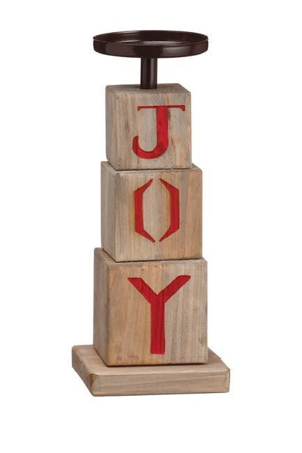 "Image of ALLSTATE 11.5"" Joy Candleholder"