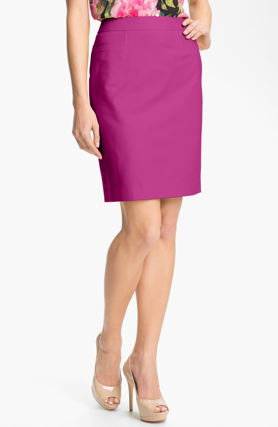,                             Stretch Woven Skirt,                             Main thumbnail 37, color,                             690