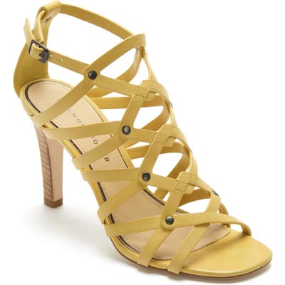 Etienne Aigner Marielle Strappy Sandal- Yellow