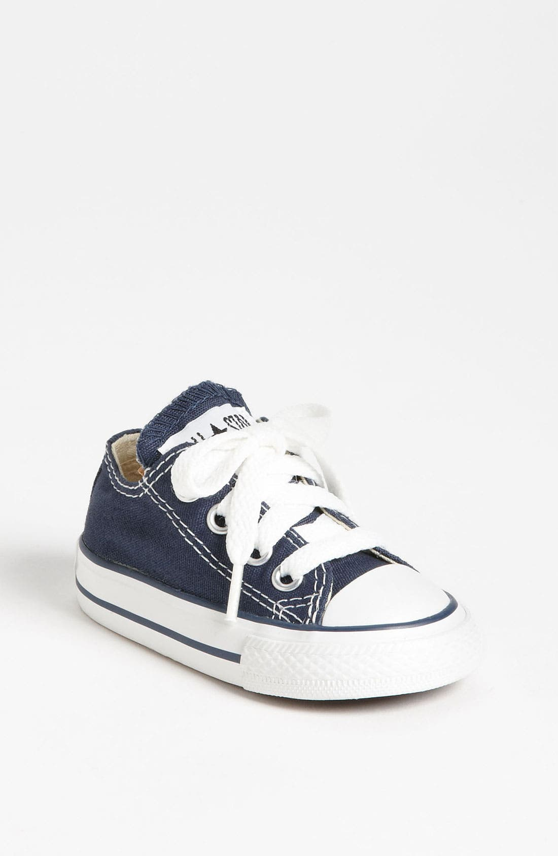 CONVERSE CHUCK TAYLOR ALL STAR OX 7J237 NAVY KIDS INFANT TODDLERS SHOES SIZE