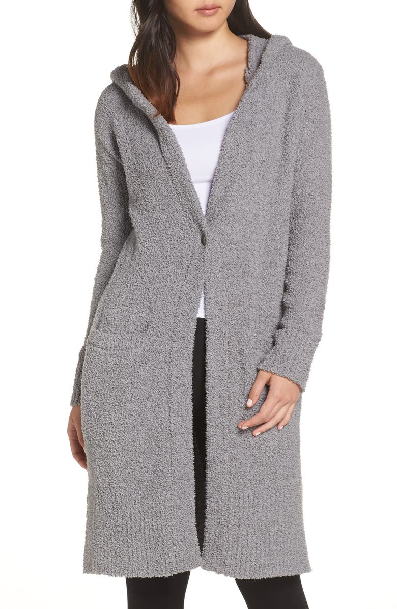 UGG<SUP>®</SUP> Judith Long Cardigan, Main, color, GREY