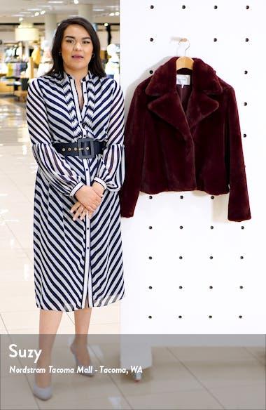 Short Faux Fur Coat, sales video thumbnail