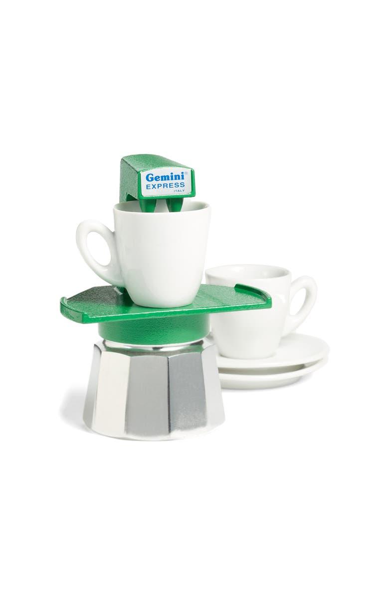 MOMA Design Store Gemini Espresso Maker, Main, color, GREEN