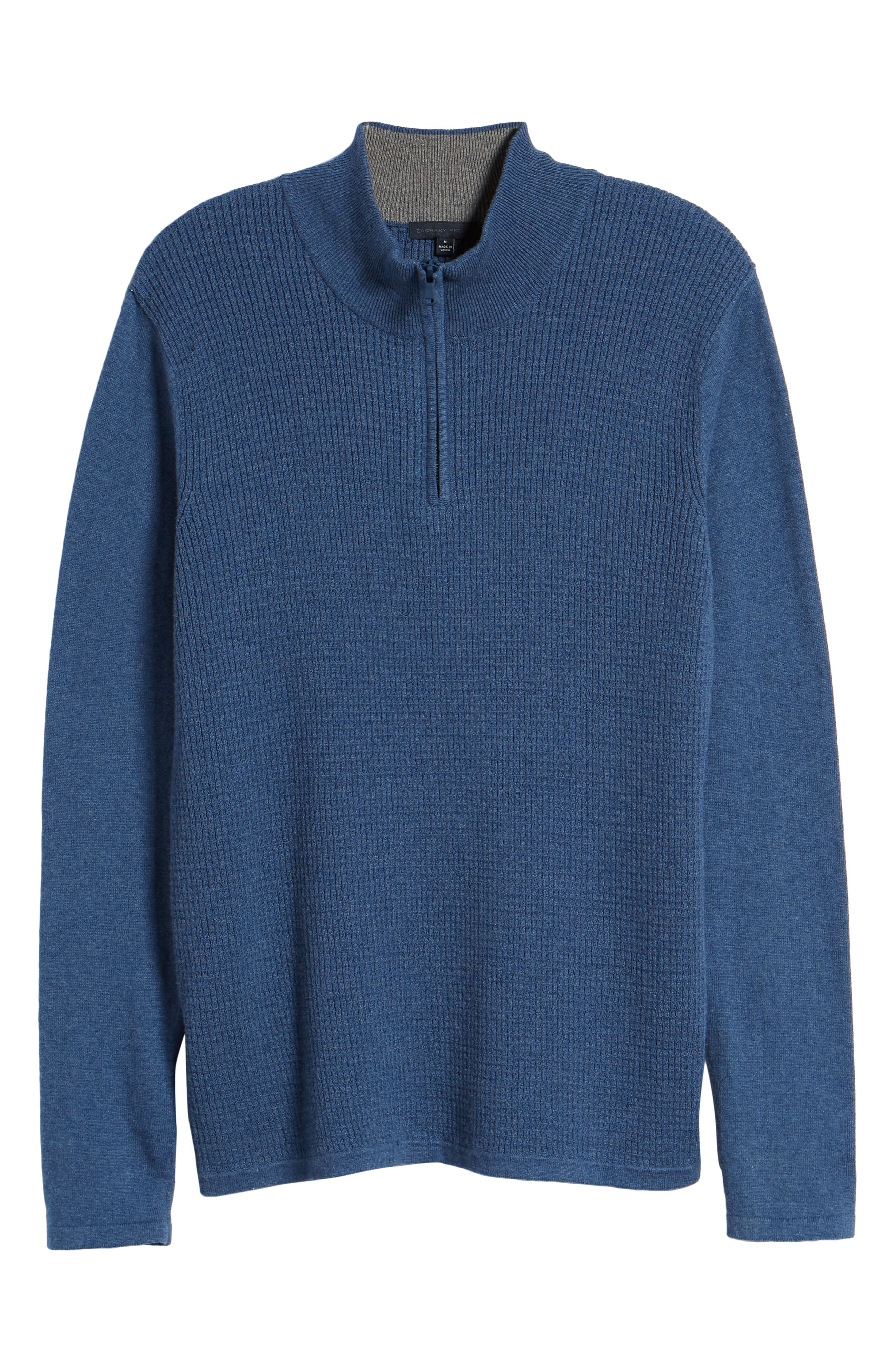 ,                             Higgins Quarter Zip Sweater,                             Alternate thumbnail 18, color,                             400