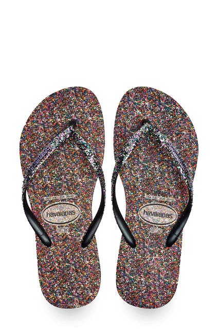 Image of Havaianas Slim Glitter Flip Flop