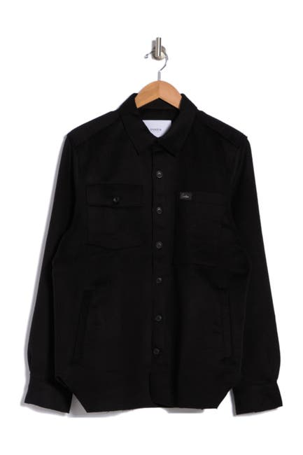 Image of OVADIA AND SONS Ike Regular Fit Overshirt