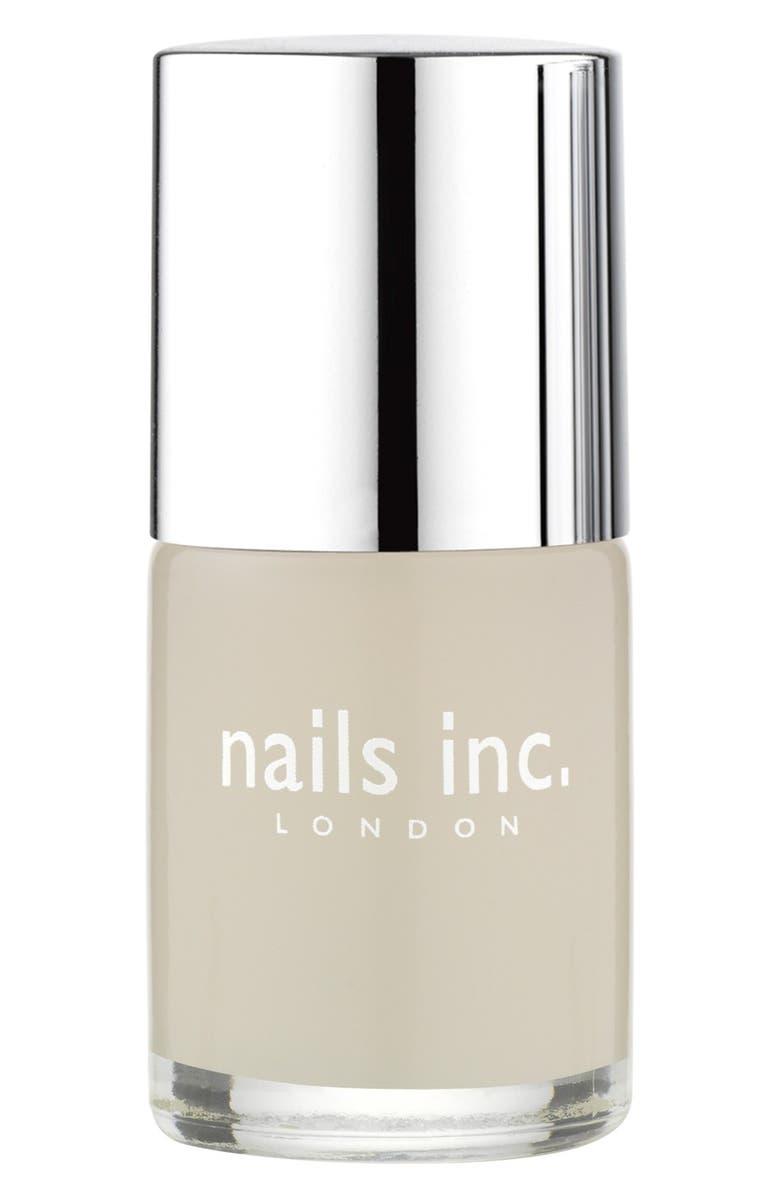 NAILS INC. LONDON 'Westminster Bridge' Matte Top Coat, Main, color, 000