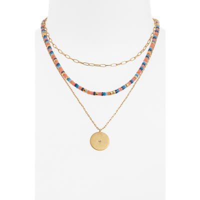 Madewell Set Of 3 Festivity Necklaces