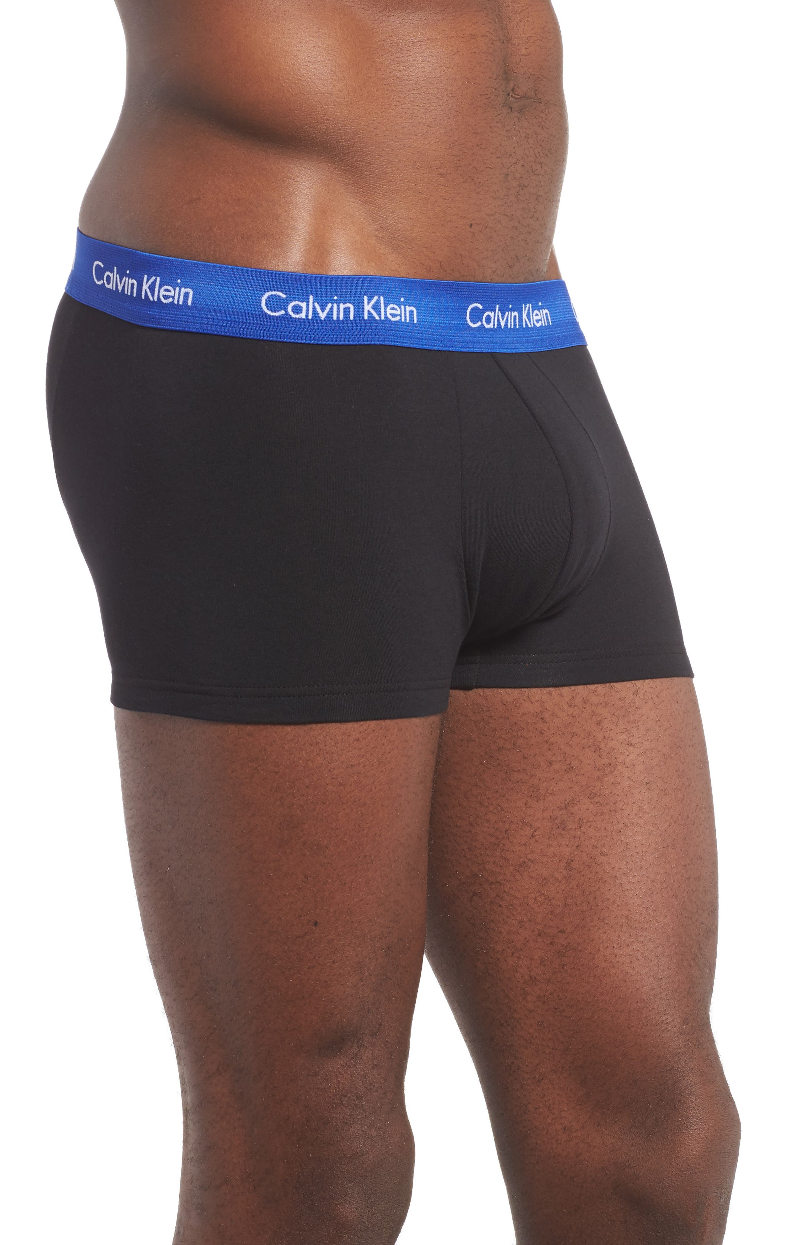 ,                             3-Pack Stretch Cotton Low Rise Trunks,                             Alternate thumbnail 157, color,                             002