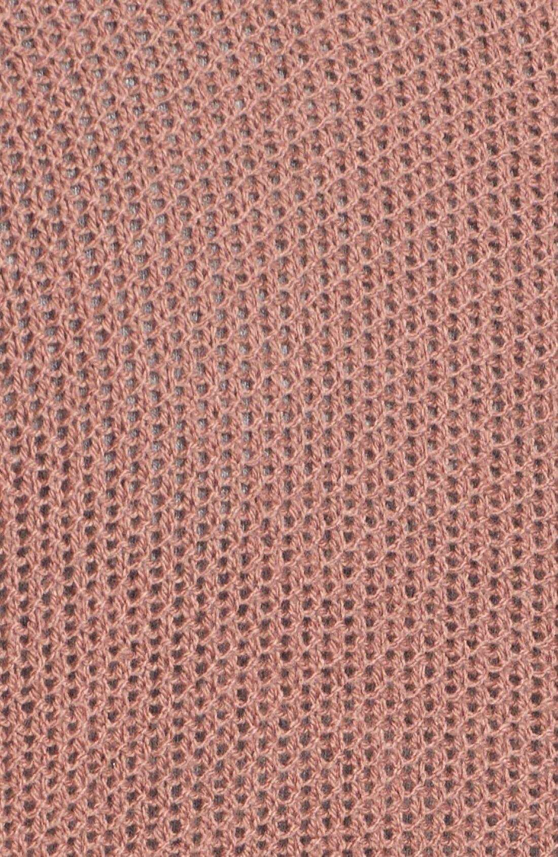 ,                             Open Knit Cardigan,                             Alternate thumbnail 3, color,                             210