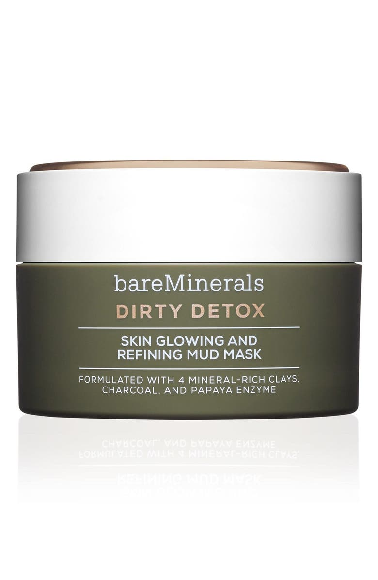 BAREMINERALS<SUP>®</SUP> Skinsorials Dirty Detox Skin Glowing and Refining Mud Mask, Main, color, 000