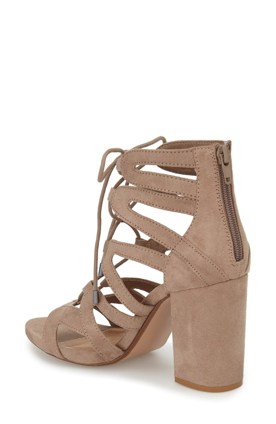,                             'Gal' Strappy Lace-Up Sandal,                             Alternate thumbnail 6, color,                             252