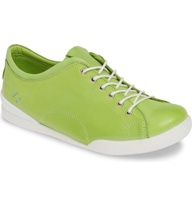 SHERIDAN MIA Abbey 2 Sneaker, Main, color, LIME LEATHER