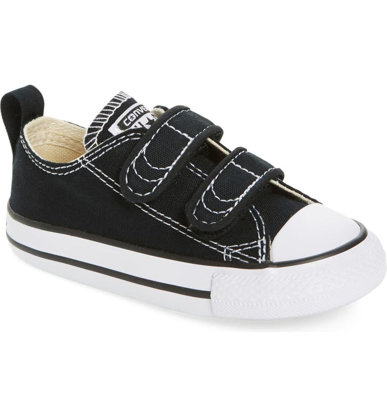 CONVERSE Chuck Taylor<sup>®</sup> 'Double Strap' Sneaker, Main, color, BLACK