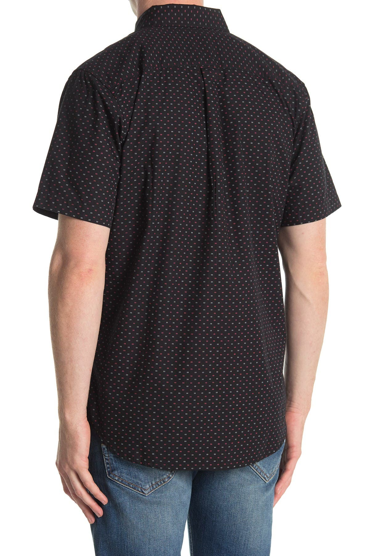Obey Riggs Woven Short Sleeve Slim Fit Shirt