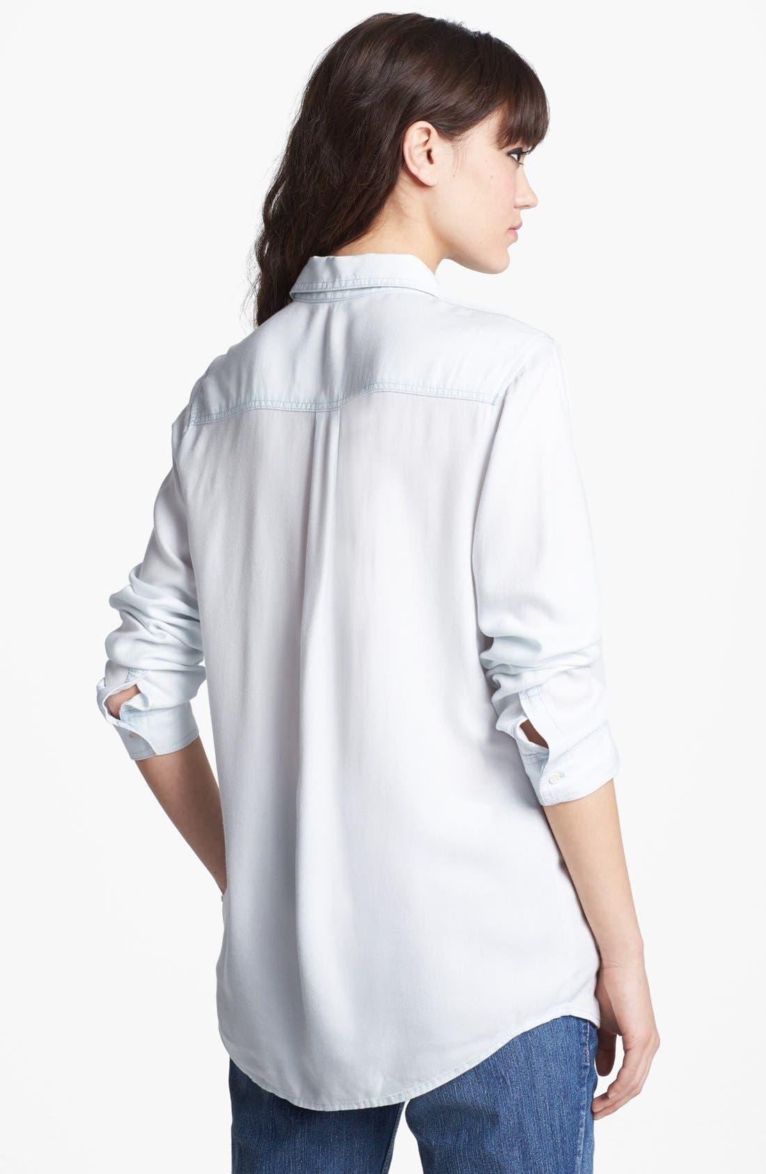 ,                             Rubbish Oversized Menswear Shirt,                             Alternate thumbnail 8, color,                             450