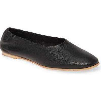 Pedro Garcia Hilaria Ballet Flat, Black