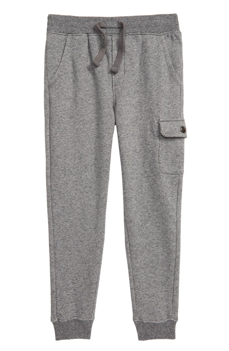 TUCKER + TATE Cargo Sweatpants, Main, color, GREY MEDIUM HEATHER