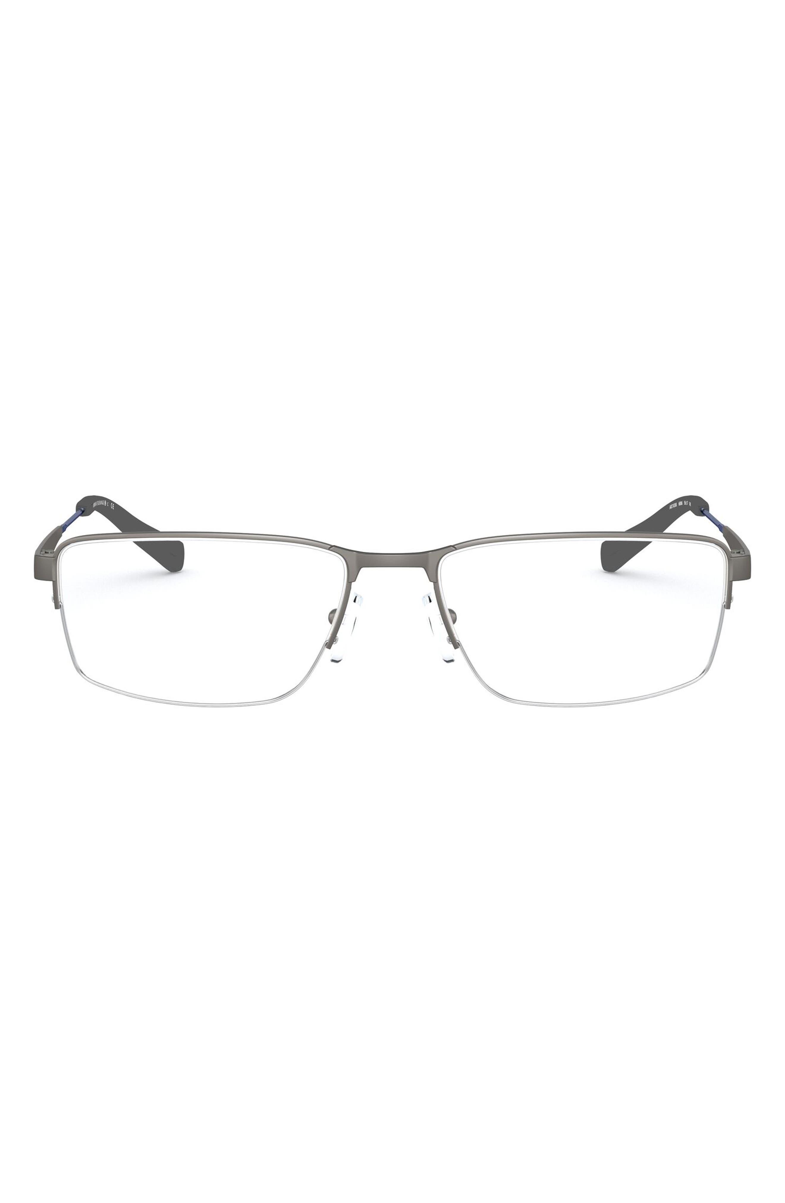 56mm Semirimless Rectangular Optical Glasses