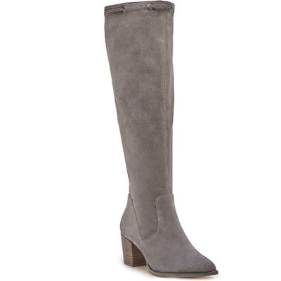 Sole Society Aresa Knee High Boot- Grey