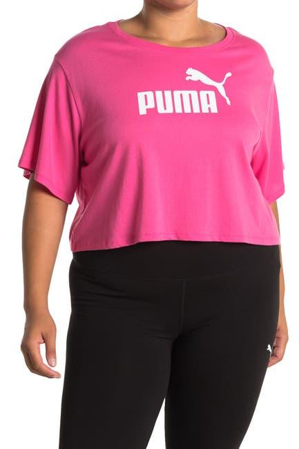 Image of PUMA Essentials Cropped Logo Tee