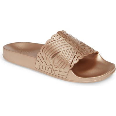 Ted Baker London Missley Perforated Sport Slide, Pink