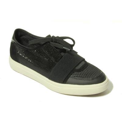 Vaneli Onella Lace-Up Sneaker- Black