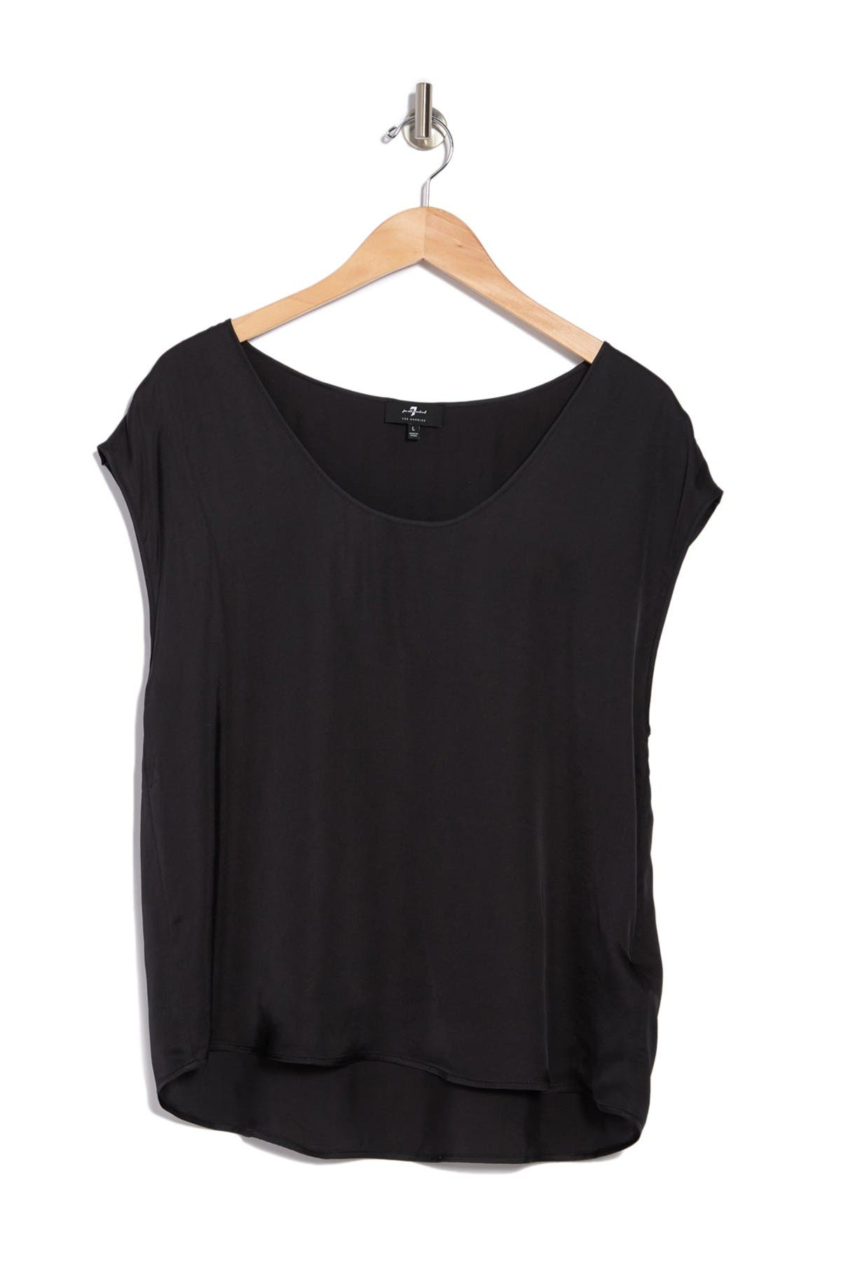 Image of 7 For All Mankind Scoop Neck Tee