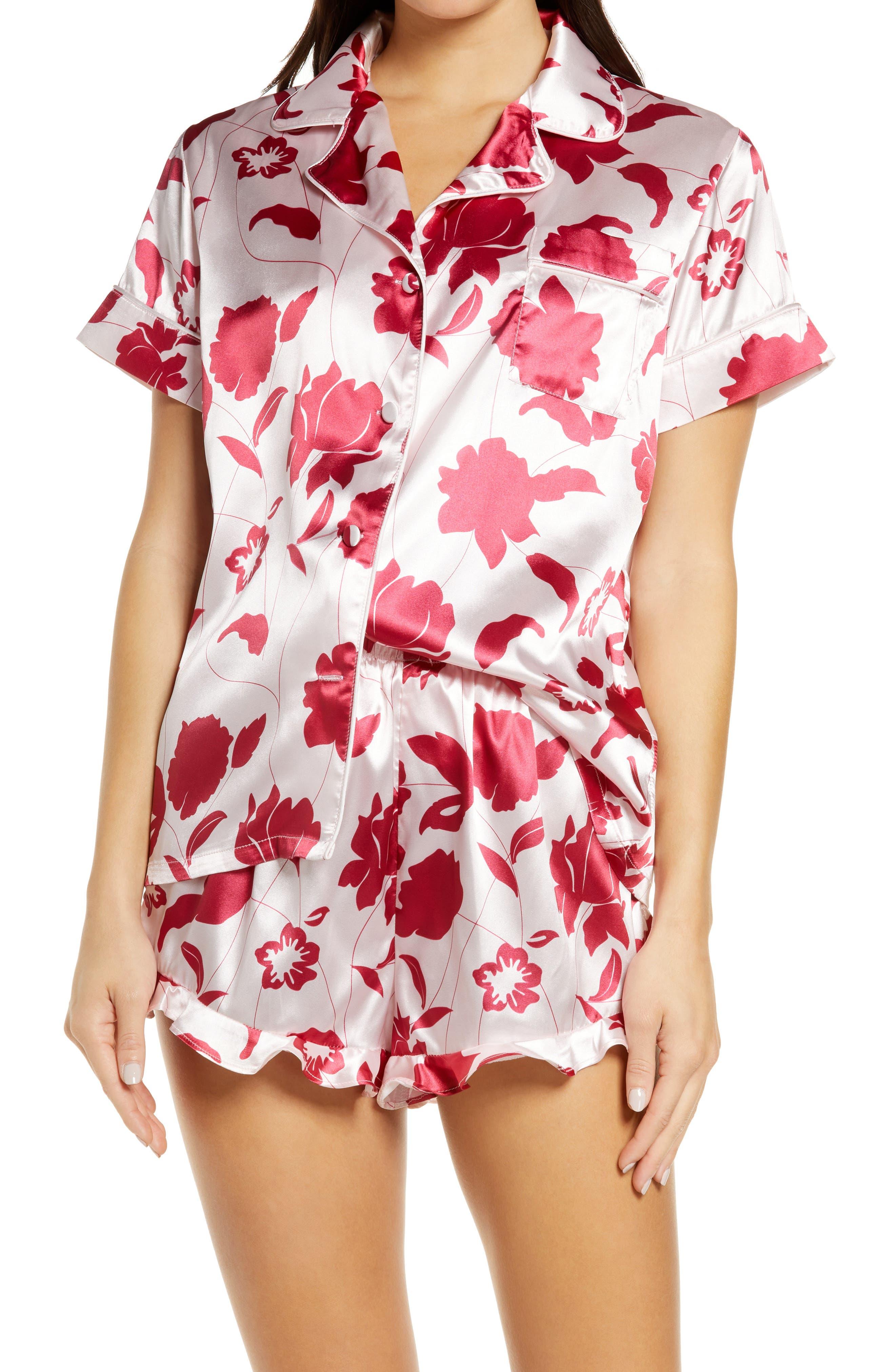 Courtney Floral Shorts Pajamas Set
