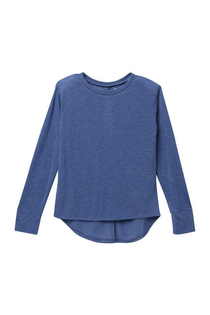 Image of Z by Zella Girl Peekaboo Long Sleeve Shirt