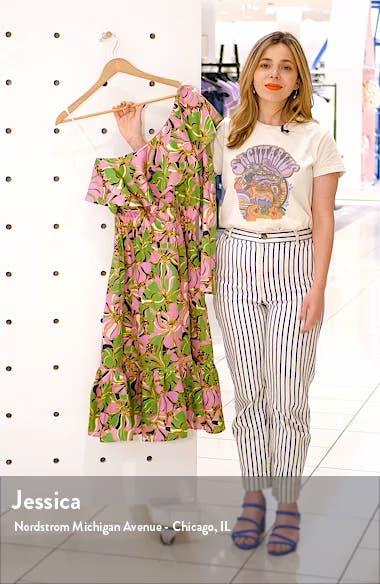 Boodie One-Shoulder Silk Dress, sales video thumbnail