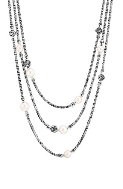 John Hardy Necklaces CLASSIC CHAIN MULTI ROW NECKLACE