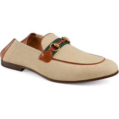 Gucci New Jordaan Convertible Loafer - White
