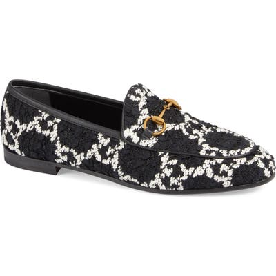 Gucci Jordaan Loafer, Black