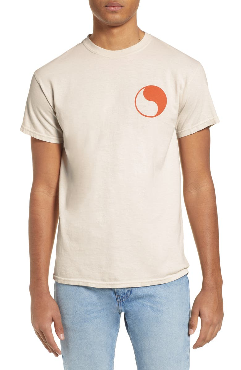 FREE & EASY Yin Yang Logo T-Shirt, Main, color, 250