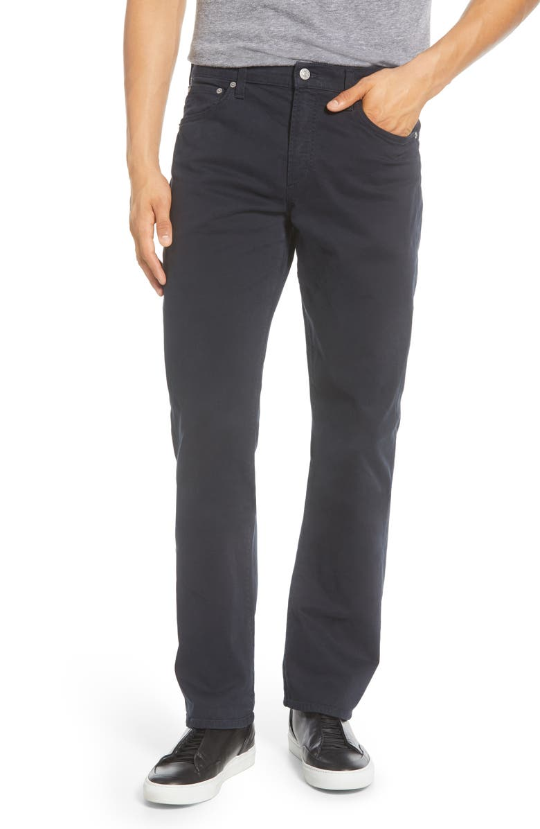 CITIZENS OF HUMANITY Gage Slim Straight Leg Twill Pants, Main, color, OXFORD