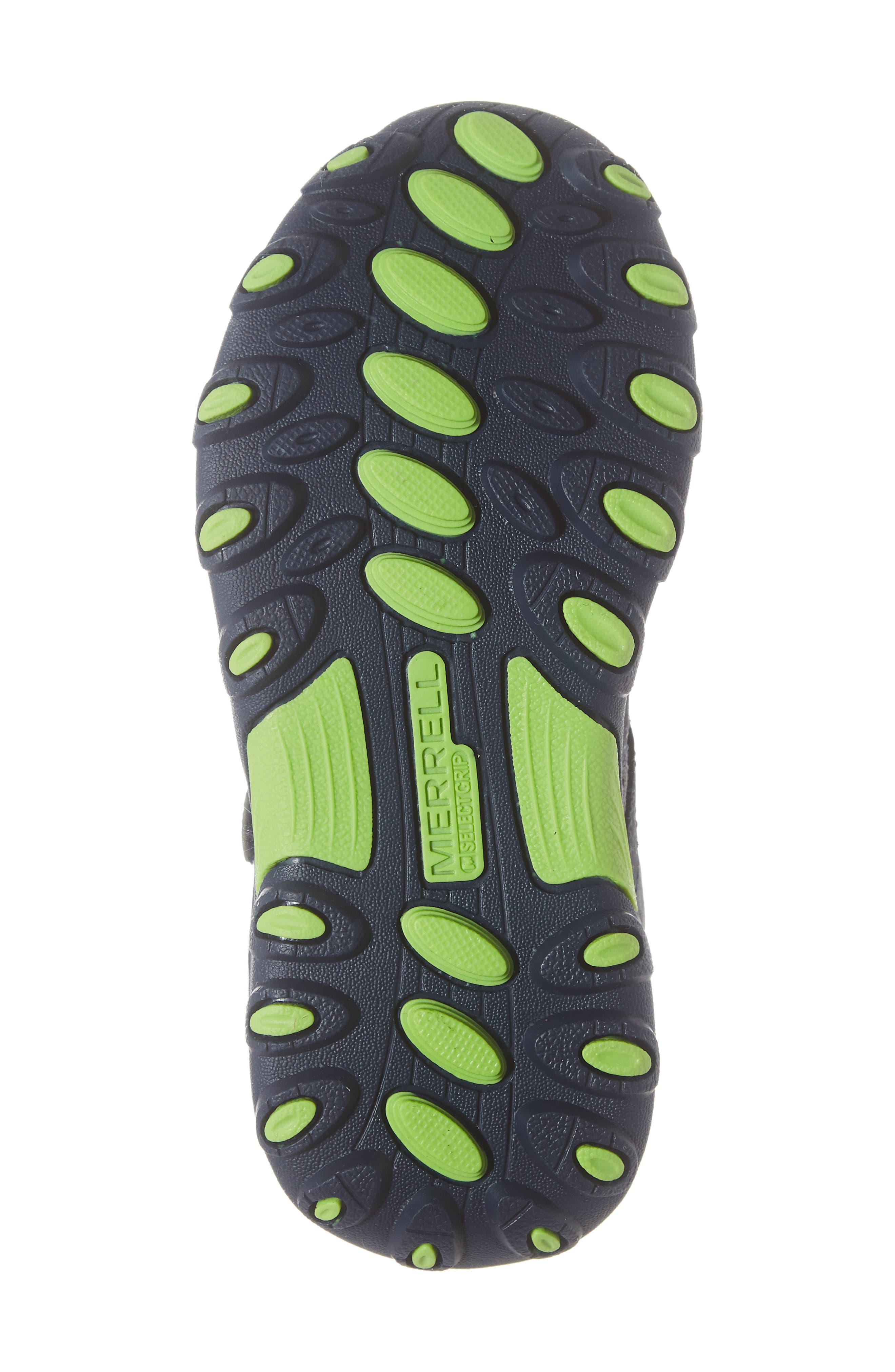 ,                             Trail Chaser Sneaker,                             Alternate thumbnail 6, color,                             NAVY/ GREEN