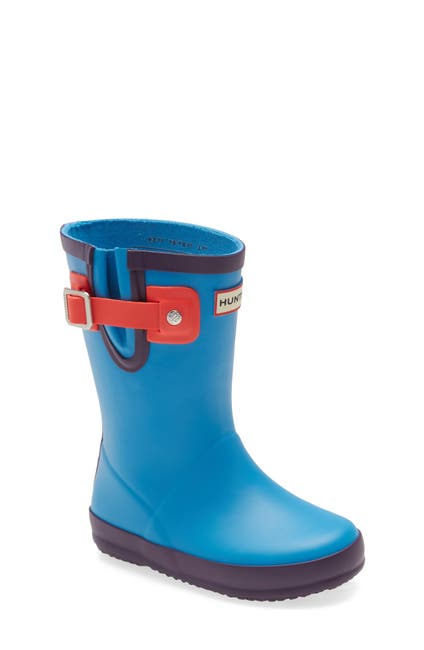Image of Hunter Buckle Strap Waterproof Rain Boot