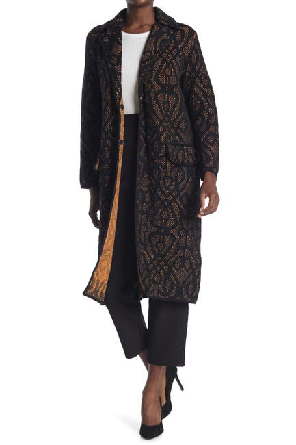 Image of M Missoni Wool Blend Trench Coat