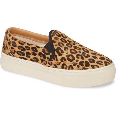 Soludos Bondi Genuine Calf Hair Slip-On Sneaker