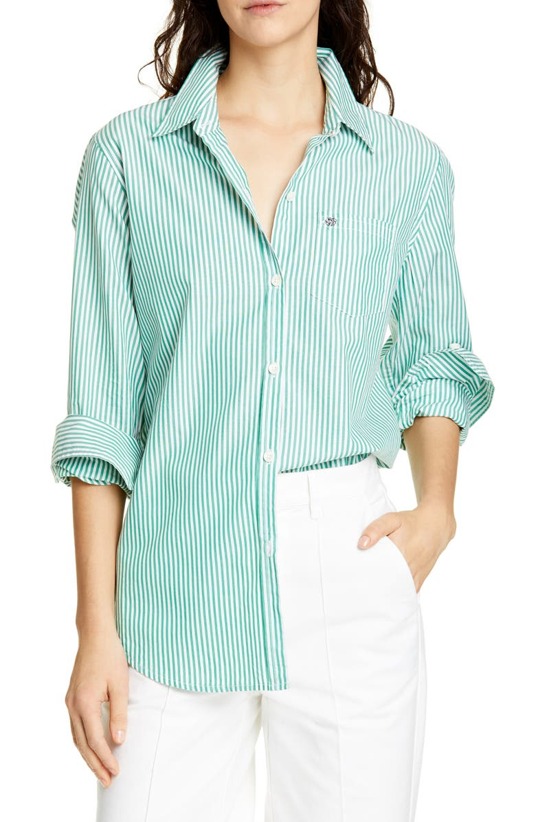 ALEX MILL Stripe Shirt, Main, color, 300
