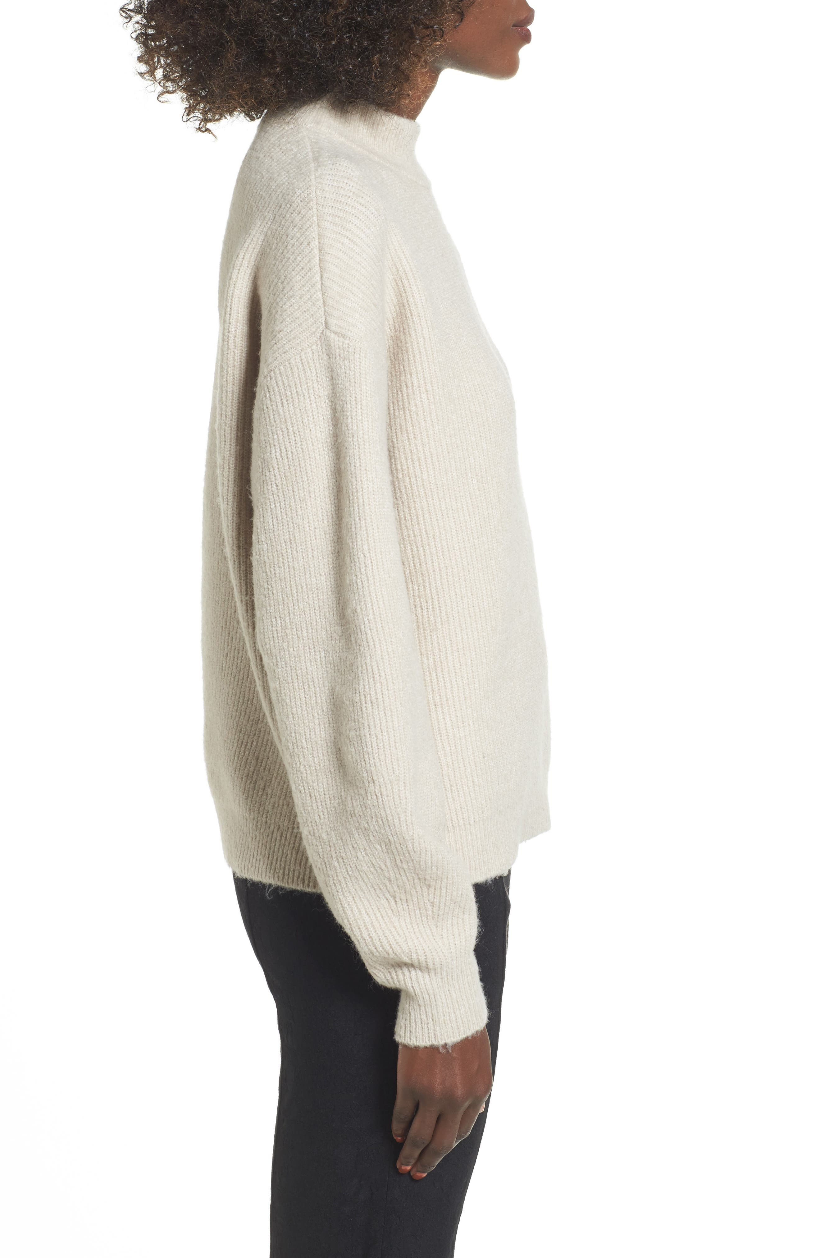 ,                             Cozy Ribbed Pullover,                             Alternate thumbnail 3, color,                             050