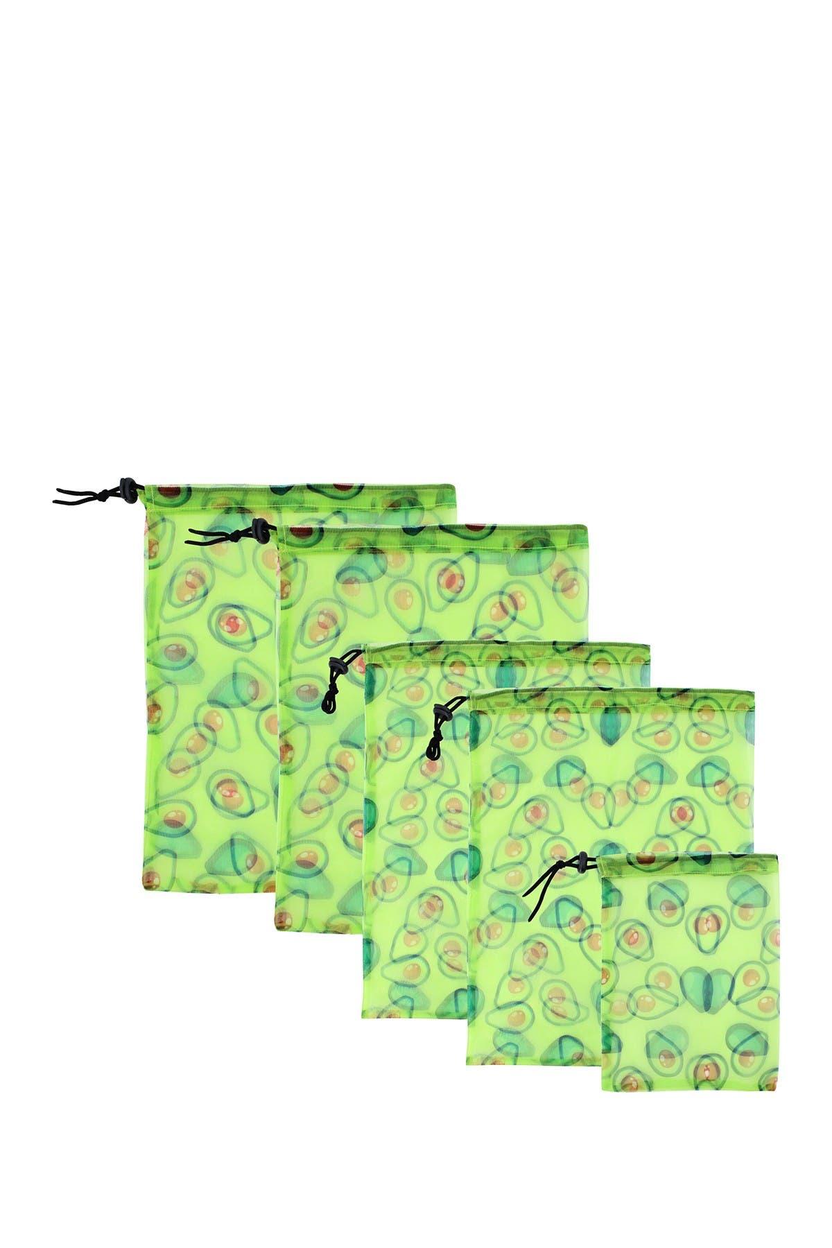 Image of MYTAGALONGS Avocado Produce Bags - Set of 5