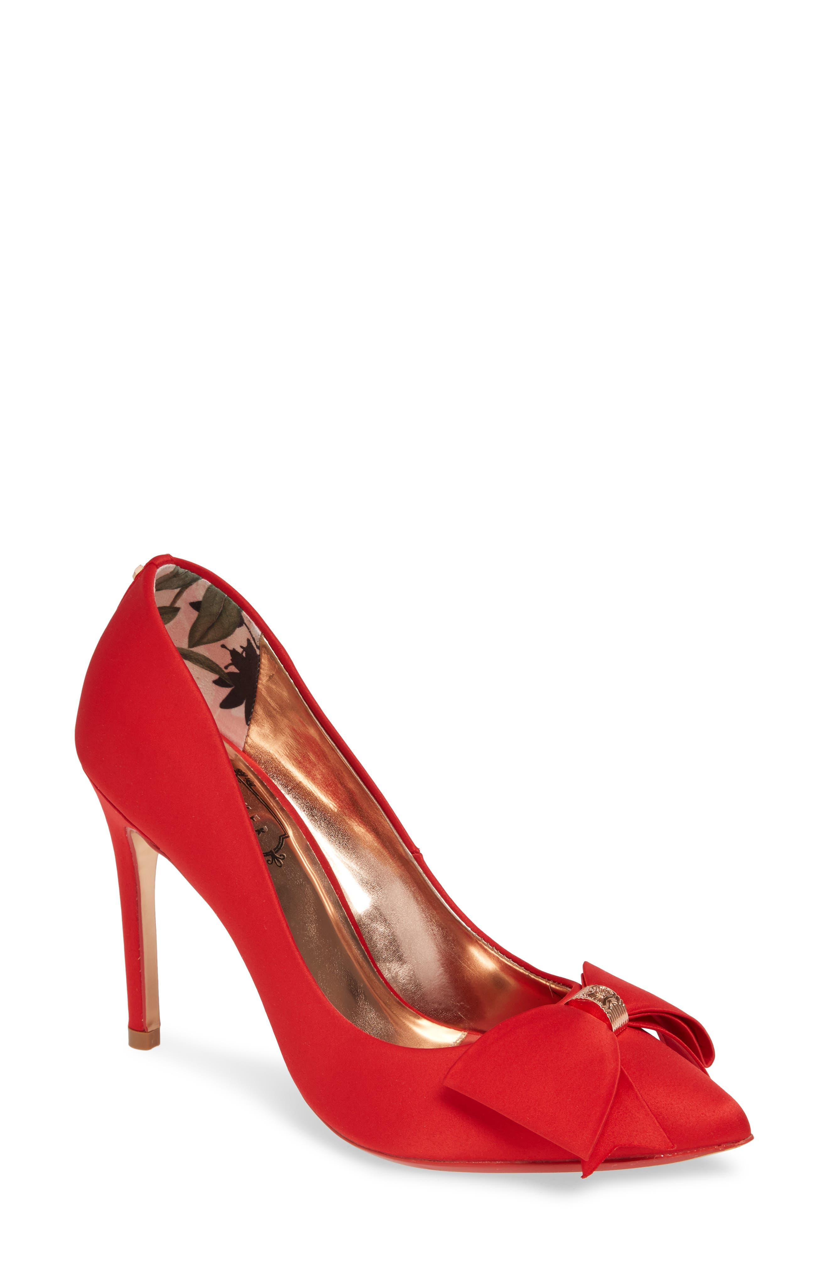 Ted Baker London Asellys Pump, Red