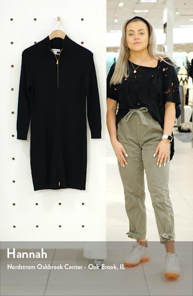 Pickford Rib Full Zip Sweater Dress, sales video thumbnail