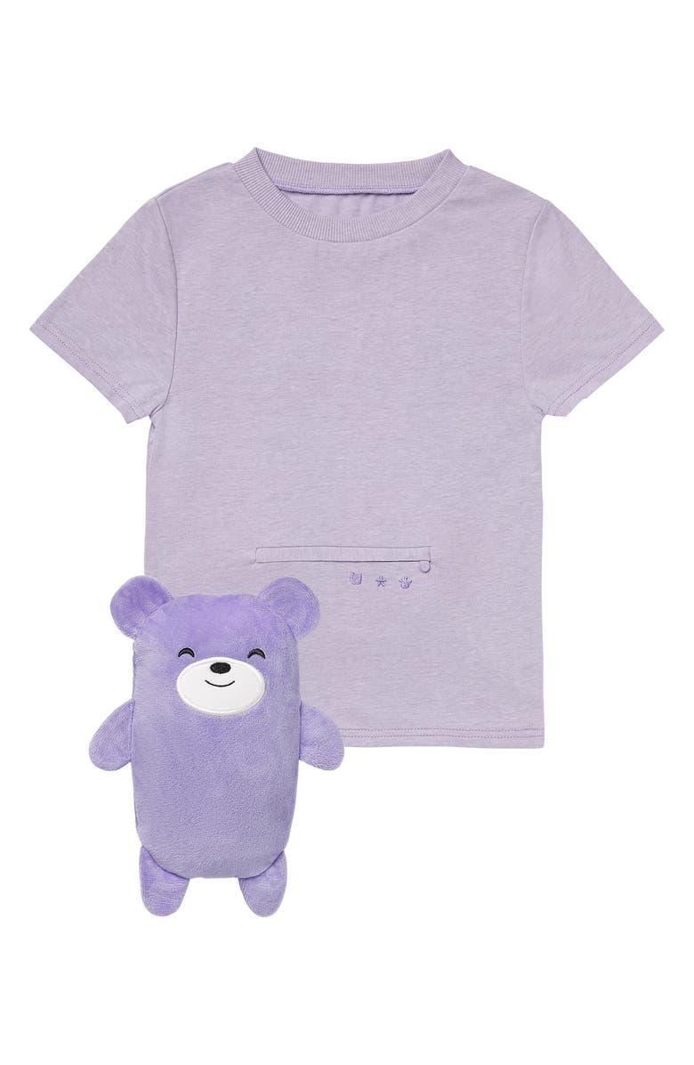CUBCOATS Bori the Bear 2-in-1 Stuffed Animal T-Shirt, Main, color, 580