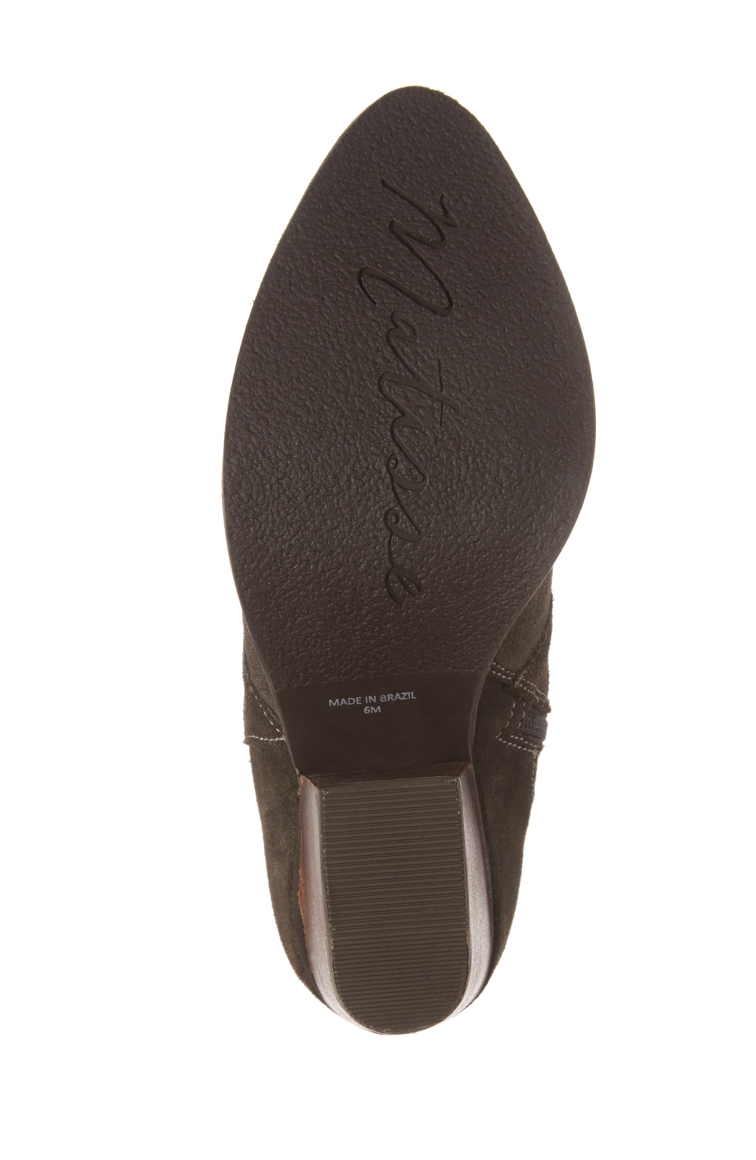 ,                             Laney Notched Heel Bootie,                             Alternate thumbnail 6, color,                             020
